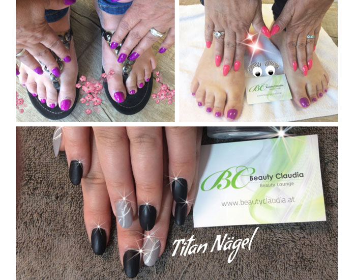 Nageldesign in Wien 1130 bei Beauty Claudia Sun & Beauty Lounge